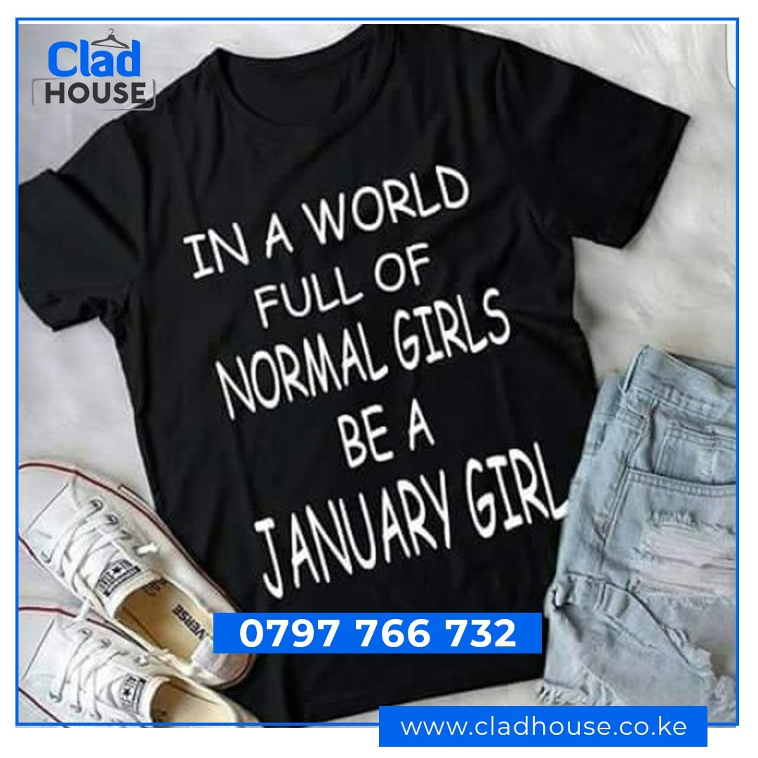 Be A January Girl