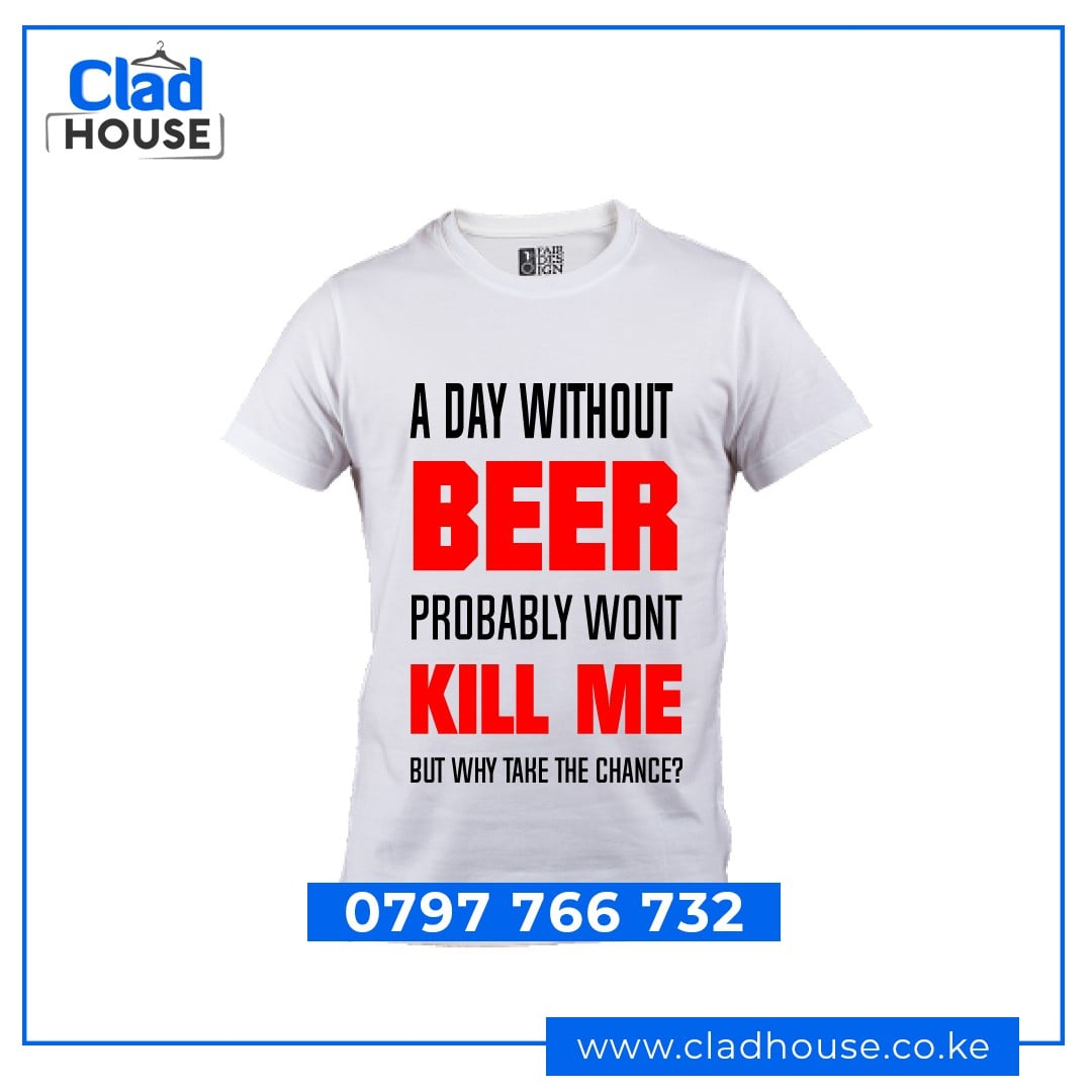 Beer Wont Kill Me Tshirt