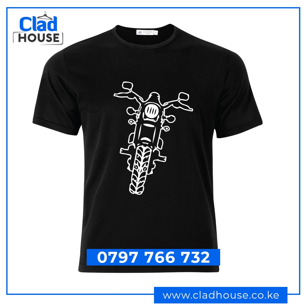 Black & White Bikers Tshirts