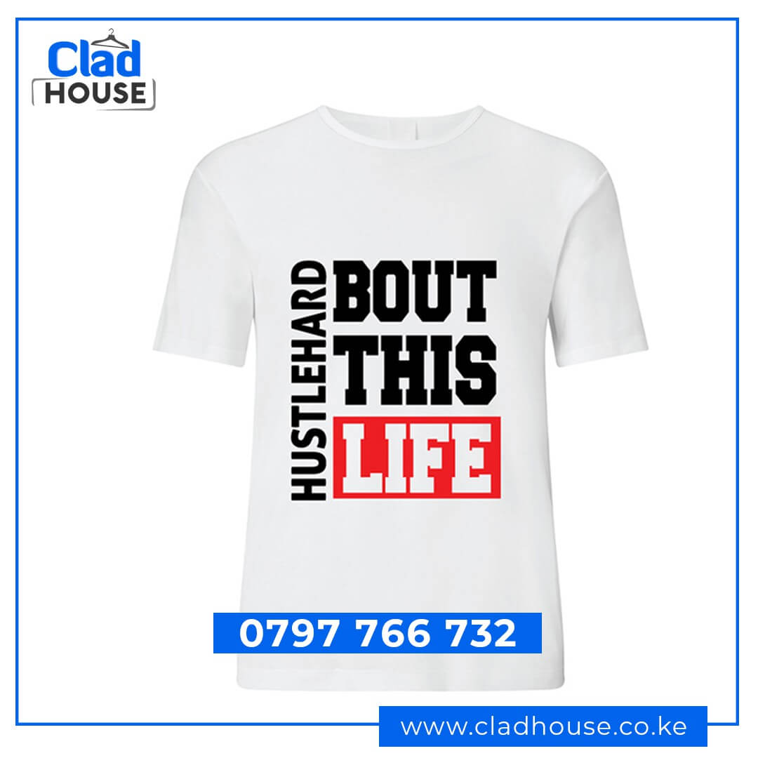 Hustle Hard About this Life Tshirt