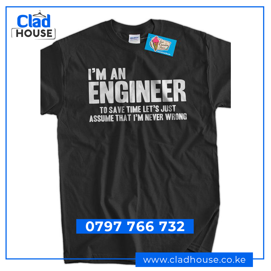 I'm an Engineer Career Tshirt