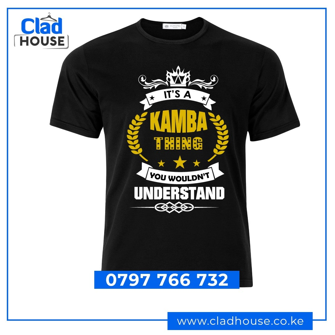 It's A Kamba Thing Tshirt