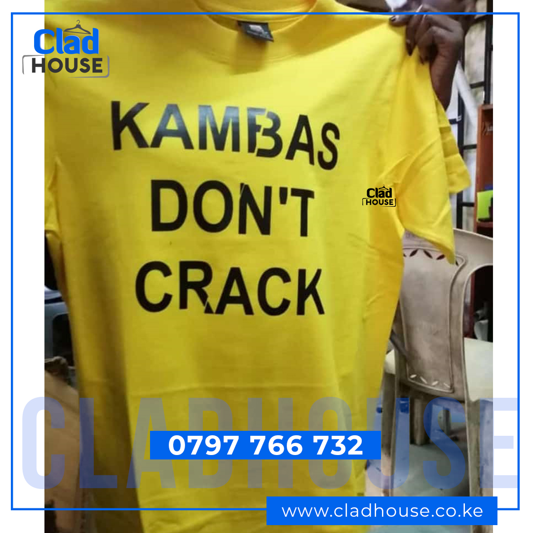 Kamba's Don't Crack Tshirt