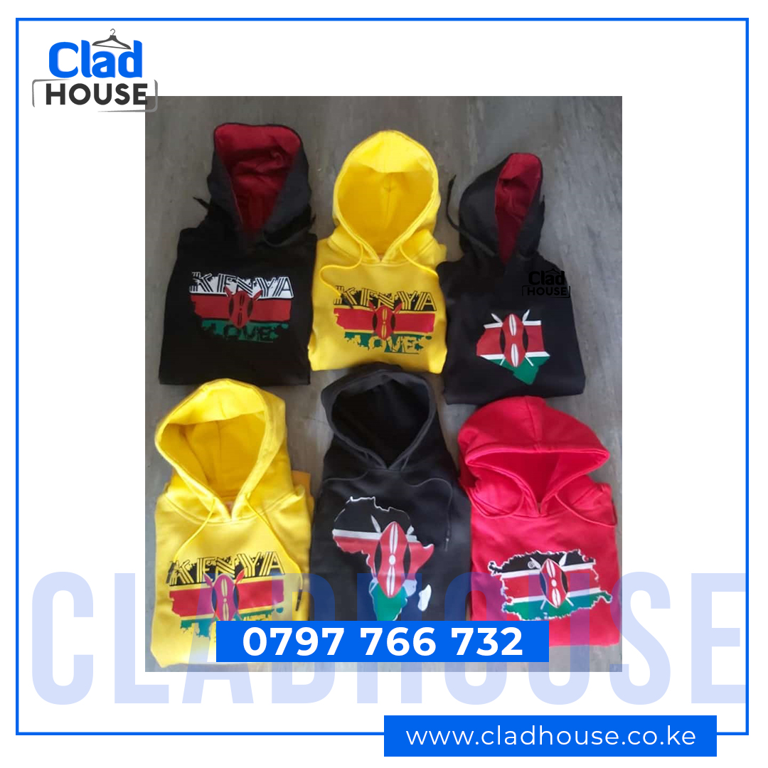 Kenyan Flag Hoodies