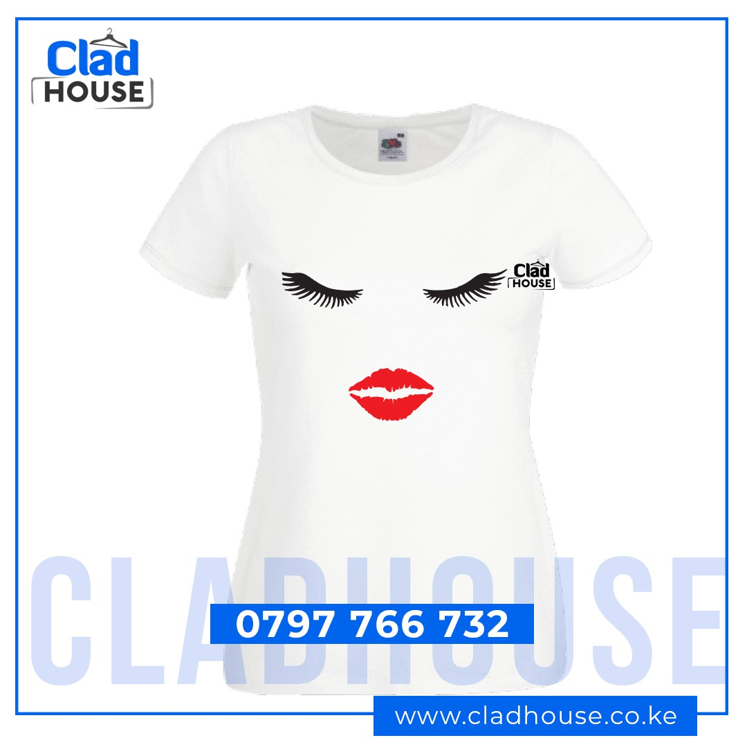 Lips & Eyes Polished Ladies Tshirt