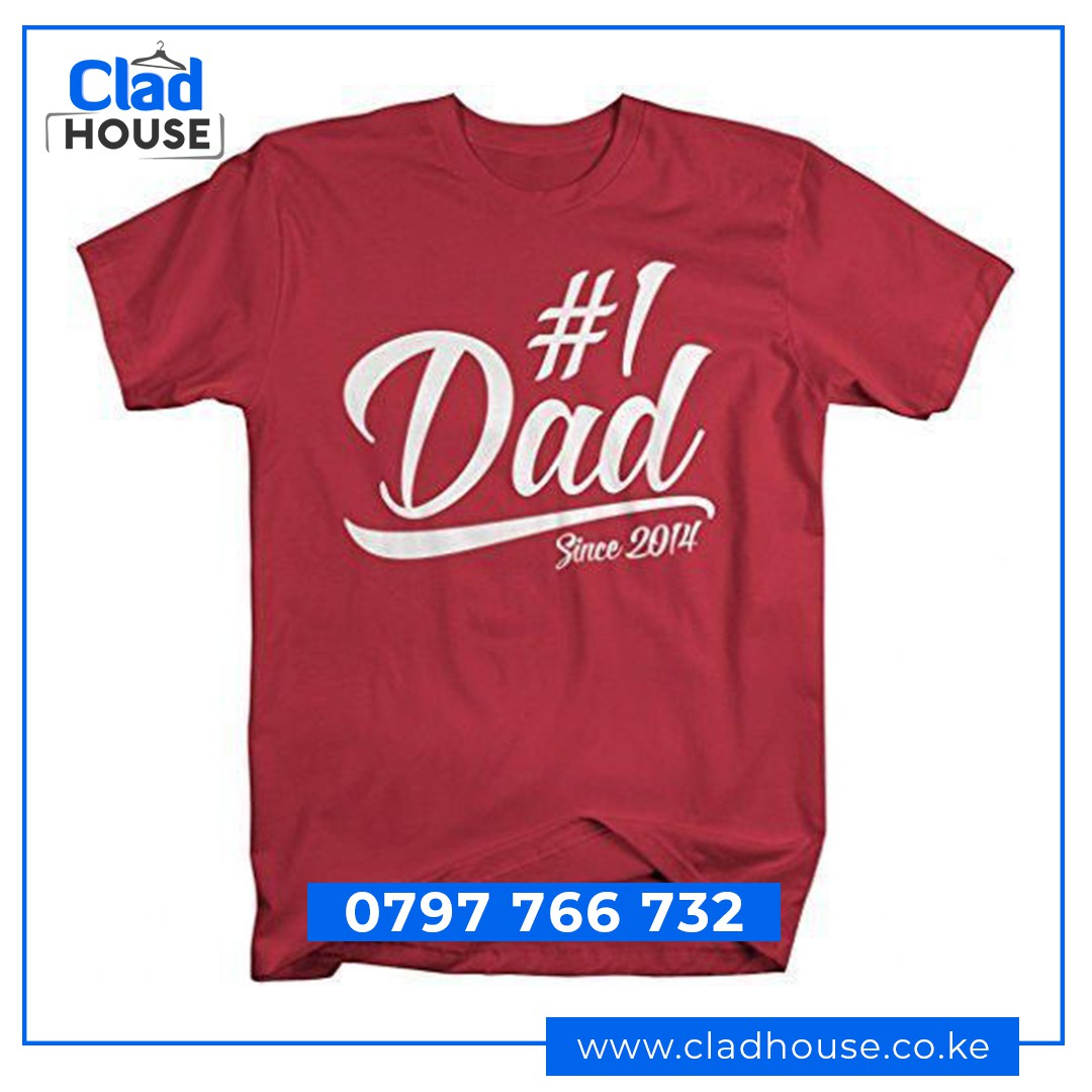 Number One Dad Tshirt