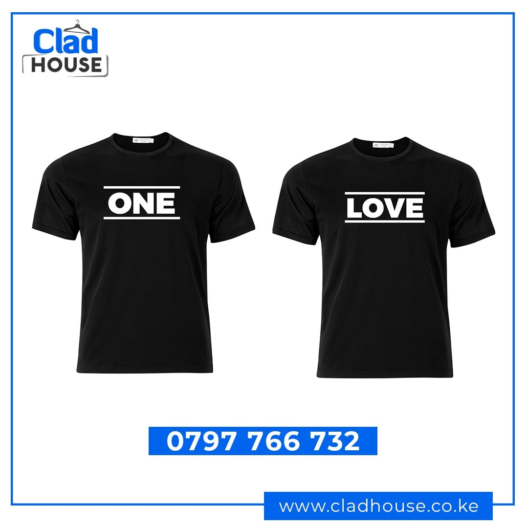 One Love Couple Tshirts