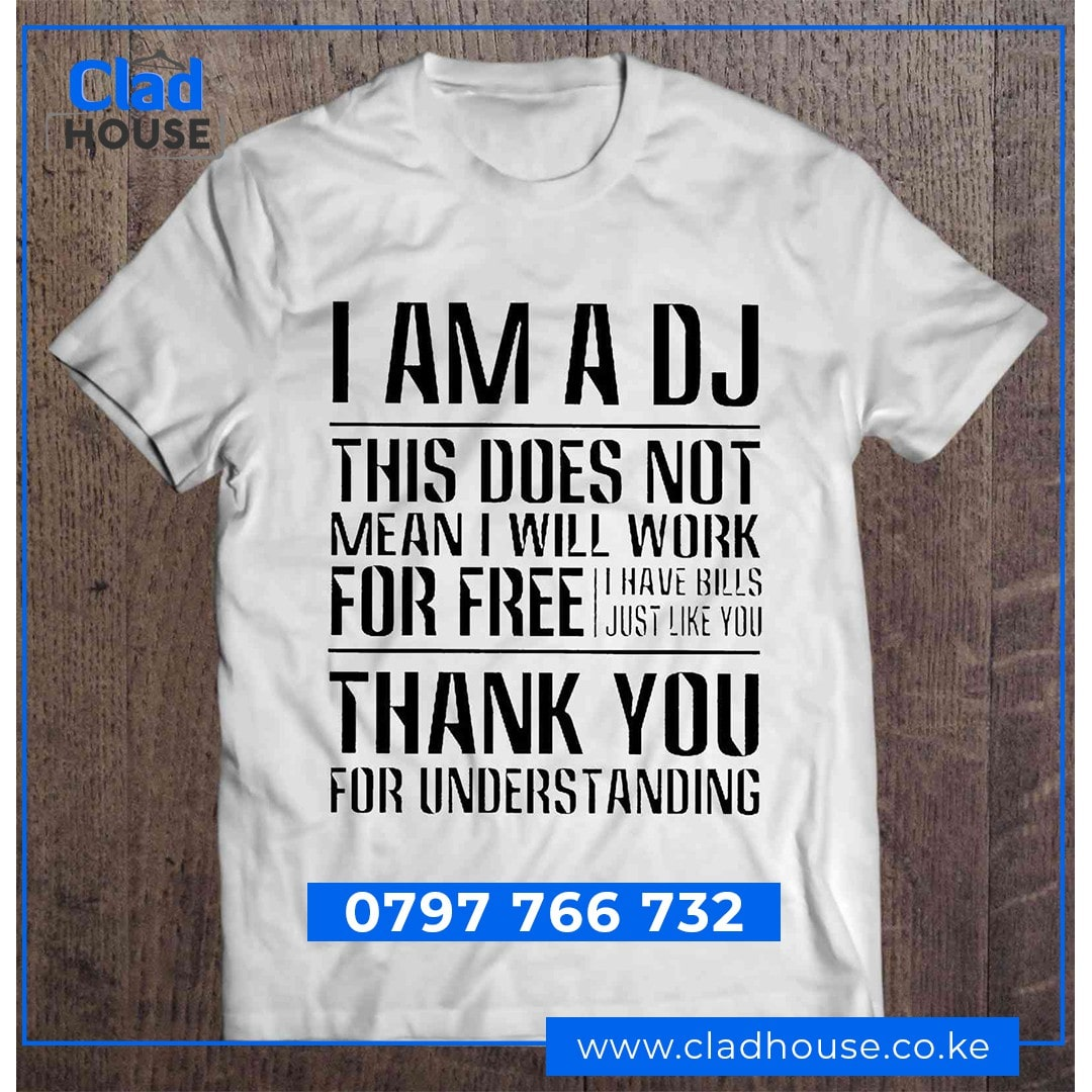 Pay Deejays - (DJs) Tshirts