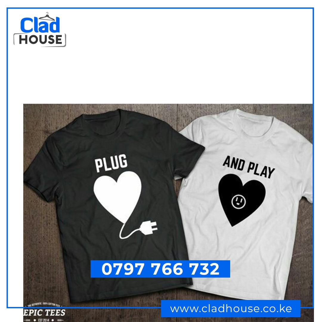 Plug and Play Couple Tshirts