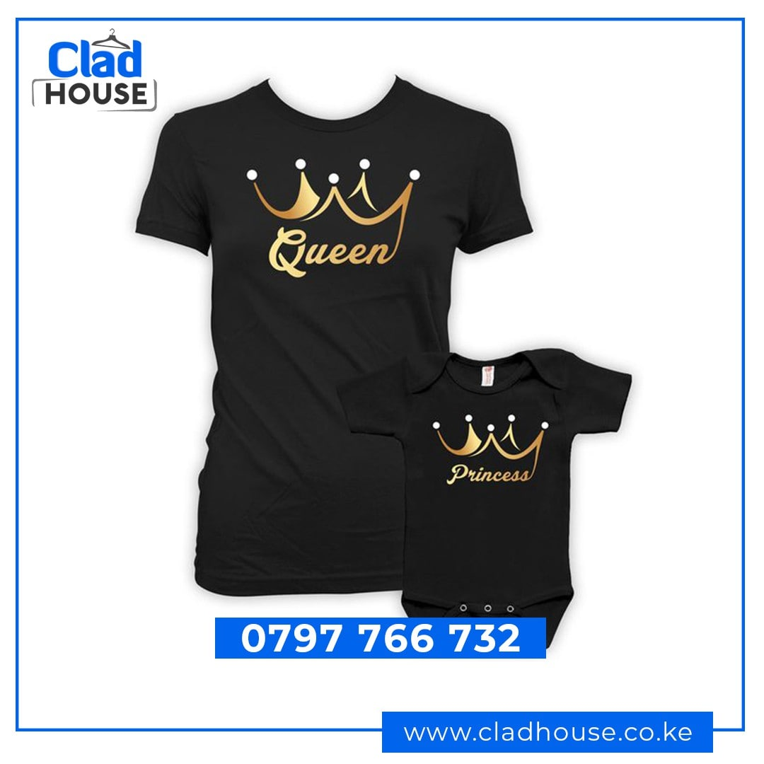 Queen & Princess Tshirts
