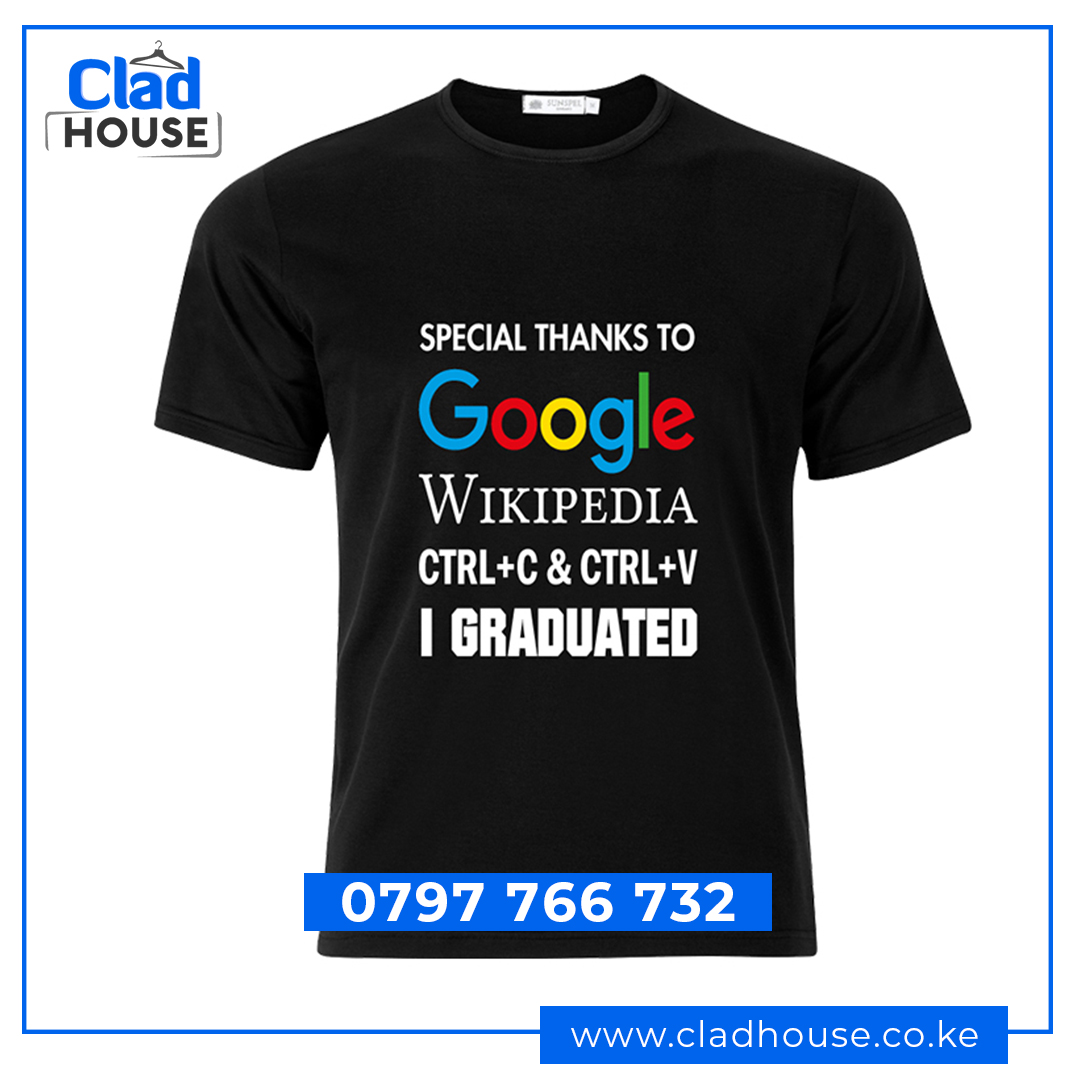Special Thanks To Google Humour Tshirt