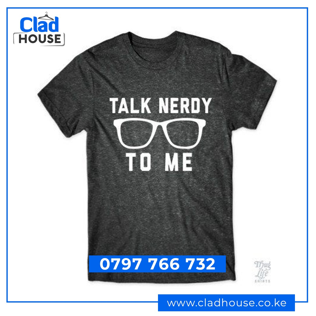 Talk Nerdy To Me Tshirt