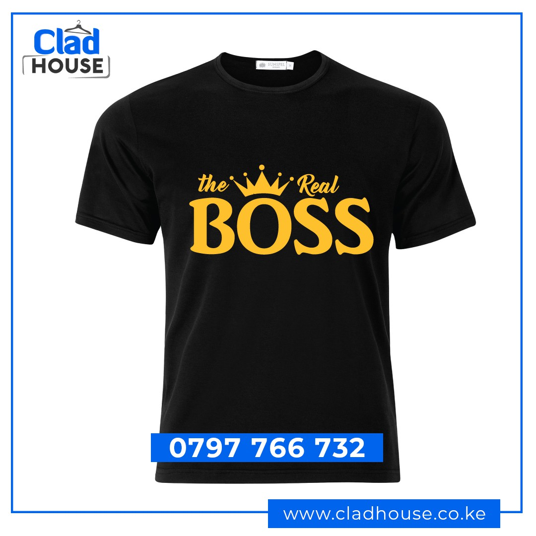 The Real Boss Tshirt