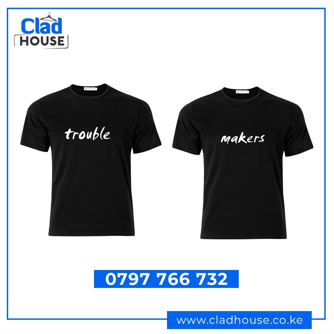 Trouble Makers Couple Tshirts