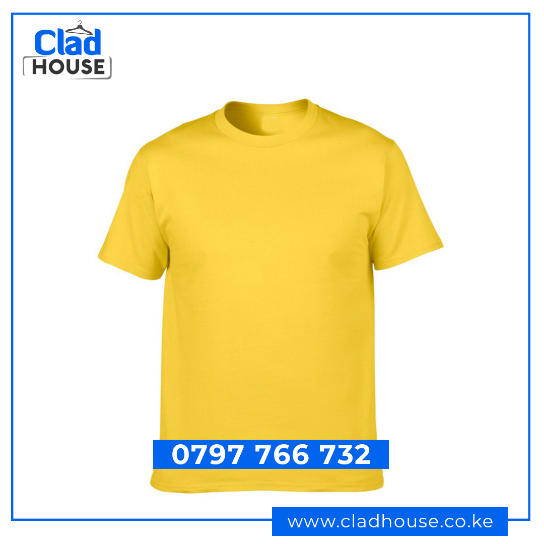 Yellow Plain Tshirt